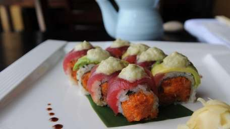 Arata Sushi in Syosset serves its maguro invictus