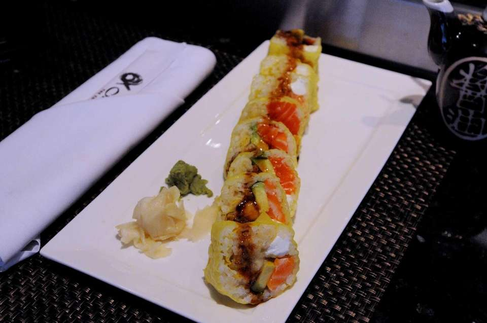 Banana roll at Sushi Ko, Merrick: This is