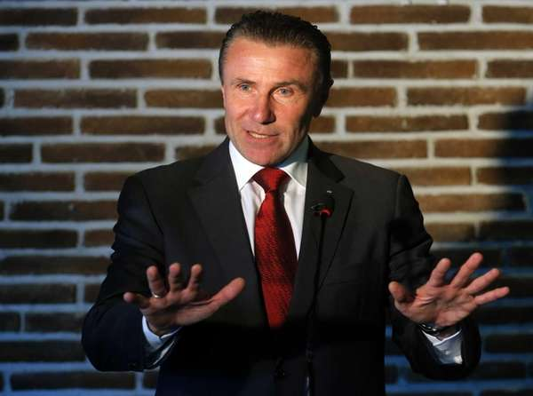 Bubka, pictured, the former Olympic gold medalist and