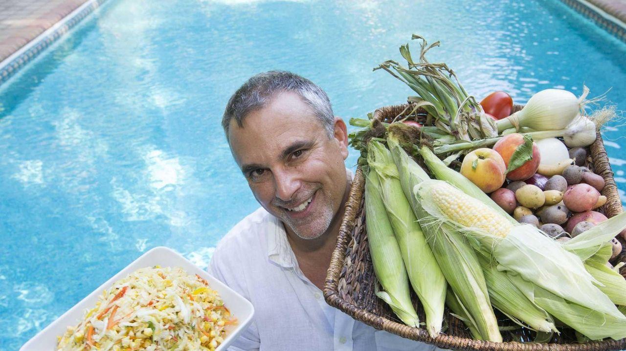 Chef George Hirsch Hosts A Farewell To Summer Cookout Newsday