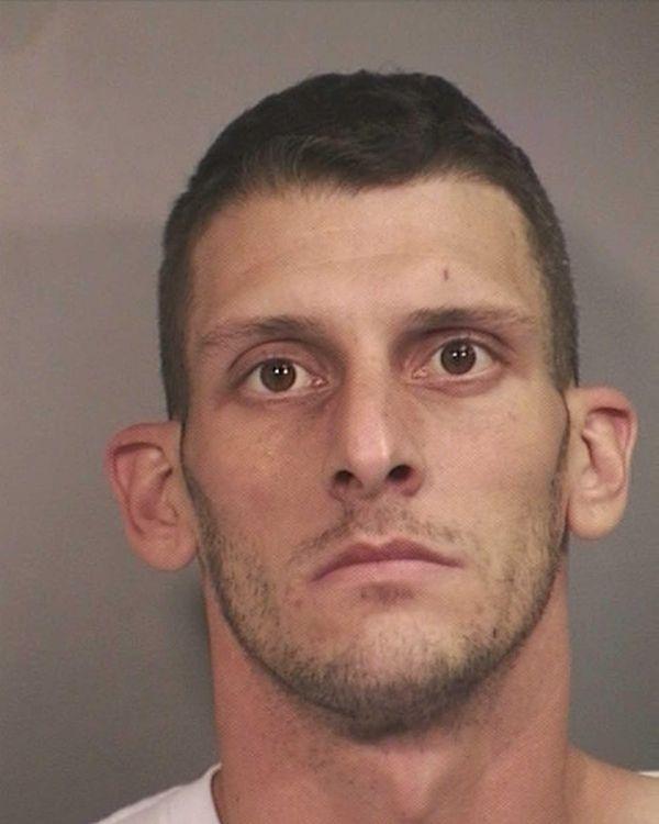 Anthony Toscano, 29, of Elmont, was arrested Sunday