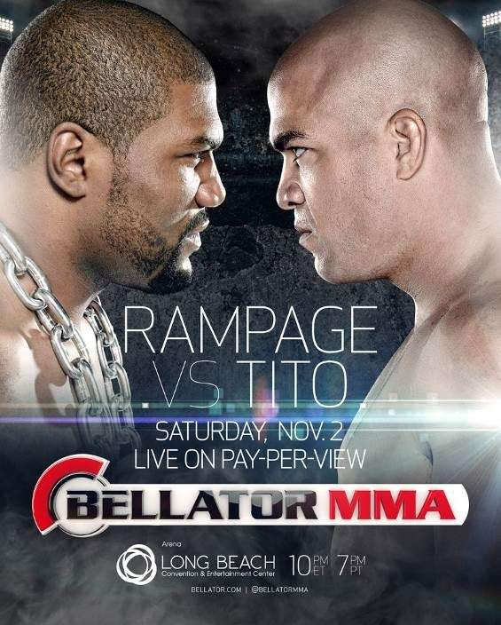 "Quinton ""Rampage"" Jackson and Tito Ortiz will headline"