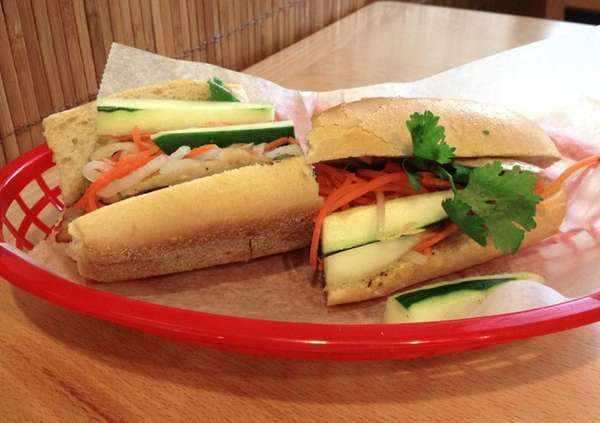 The Vietnamese banh mi sandwich at Rolling Spring