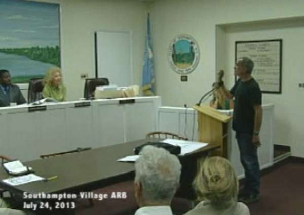 Video of the Aug. 24 Southampton Architectural Review
