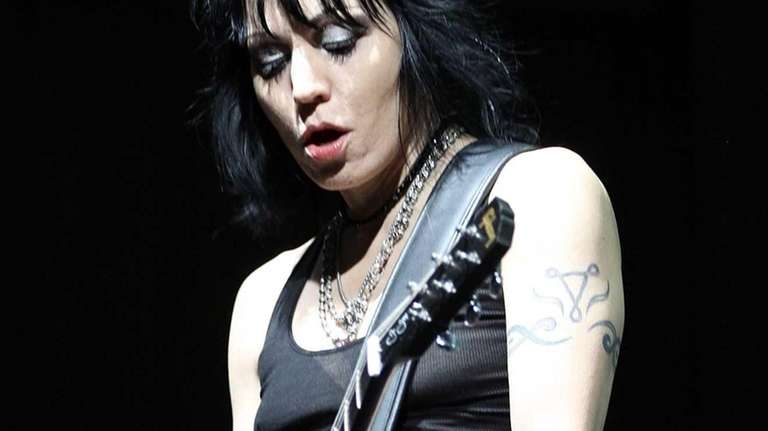 Joan Jett performs during the Falls Music &