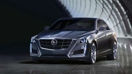The Cadillac CTS moves up in size for