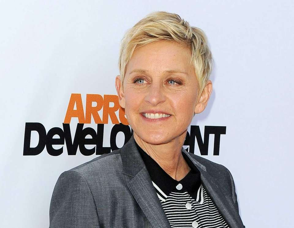 Ellen DeGeneres, born Jan. 26.