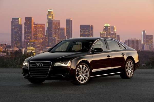 The 2013 Audi A8 starts at $75,100.