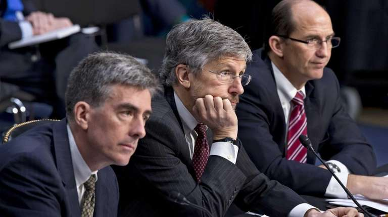 From left, National Security Agency Deputy Director John