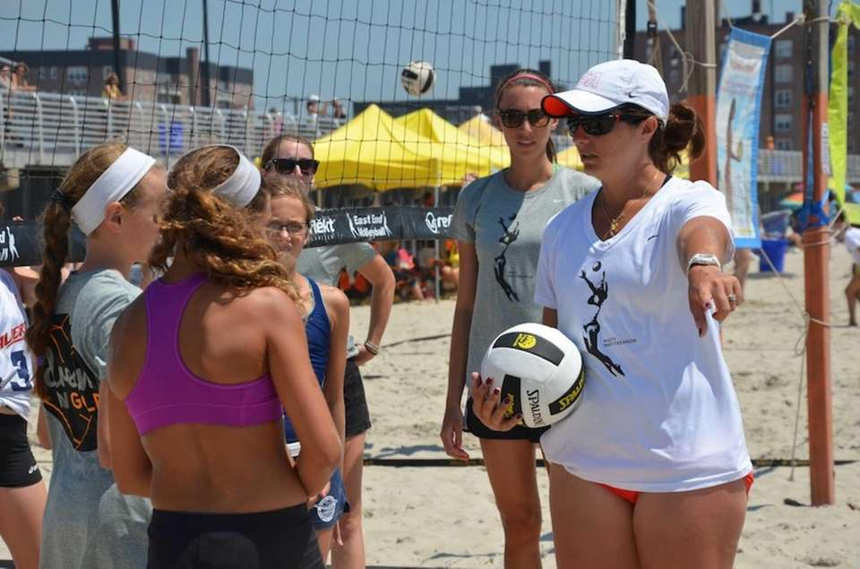 Three-time Olympic gold medalist Misty May-Treanor brought the