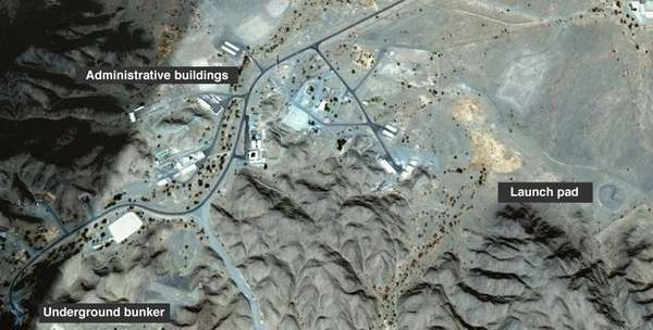 Satellite images show the previously undisclosed Al-Watah surface-to-surface