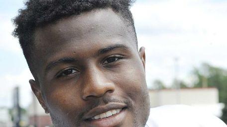 Jets wide receiver Vidal Hazelton during training camp.