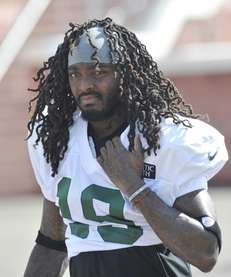Jets wide receiver Clyde Gates during training camp.