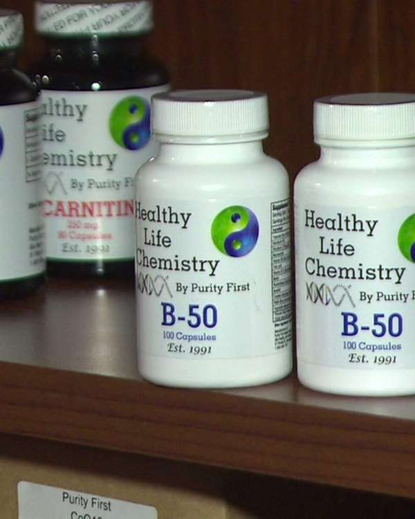 A Farmingdale vitamin maker has agreed to stop