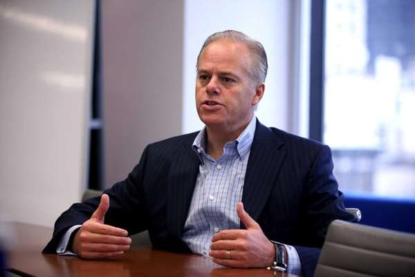CA Technologies chief executive Mike Gregoire in the