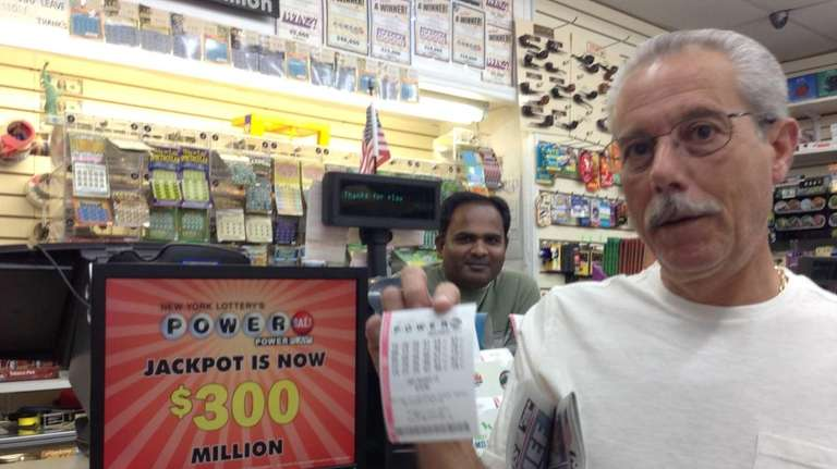 Don Riccillo buys a Powerball ticket at Fortune