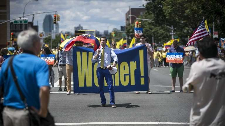 Anthony Weiner at the 29th Annual New York