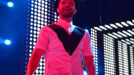 Justin Timberlake performs during the Legends of the