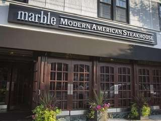 Marble Modern American Steakhouse, located in Floral Park.