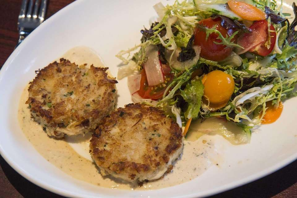 The Jumbo Lump Crab Cakes are light and