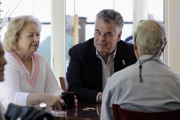 Rep. Peter King, R-N.Y., and his wife Rosemary