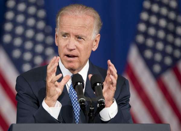Vice President Joe Biden speaks in Washington. (July