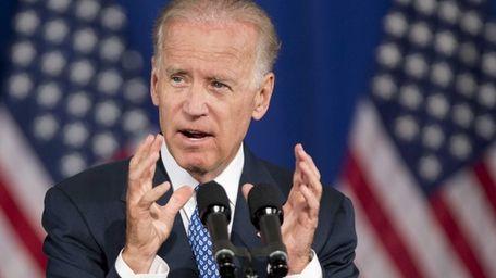 Vice President Joe Biden speaks in Washington. (July