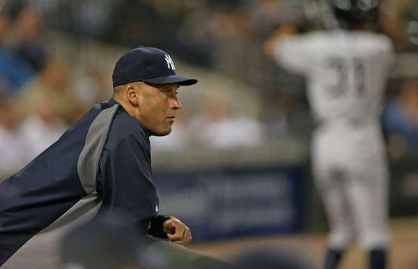 Derek Jeter, placed on the disabled list Monday,
