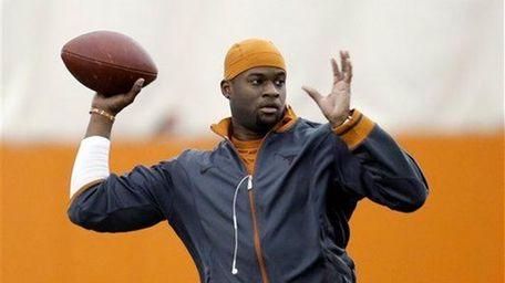 Former University of Texas and NFL quarterback Vince