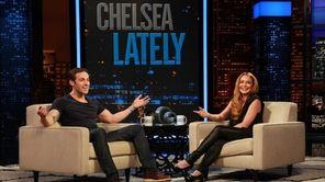 "Lindsay Lohan talks to ""Orphan Black"" star Dylan"
