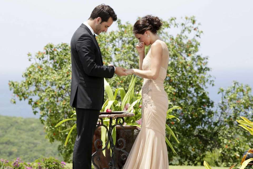 Chris Siegfried and Desiree Hartsock got engaged during