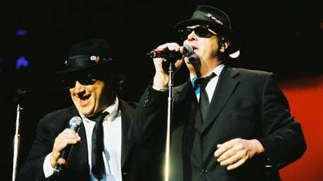 The Blues Brothers, from left, Jim Belushi and