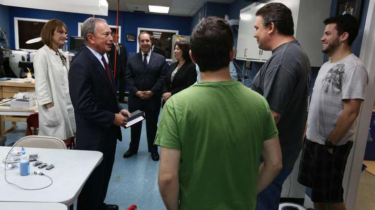 Mayor Bloomberg discusses how NYC's municipal economic and