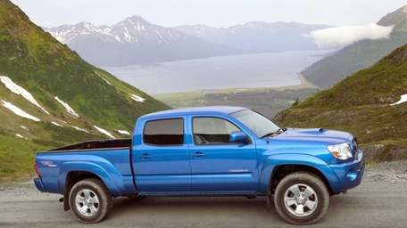 Toyota is recalling 342,000 Tacoma midsize pickup trucks