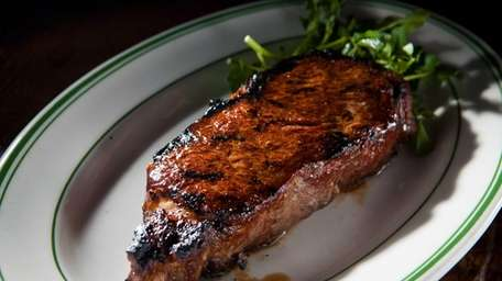 Strip steak is one of the signature dishes