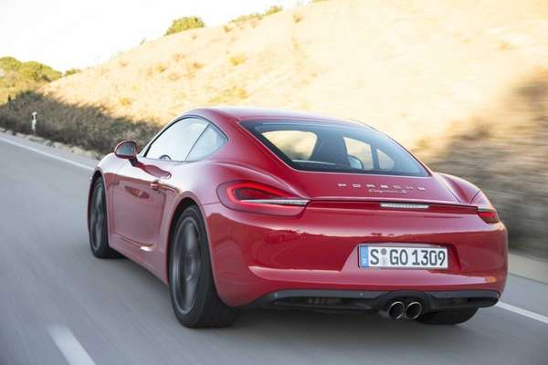 Prices for the 2014 Porsche Cayman start at