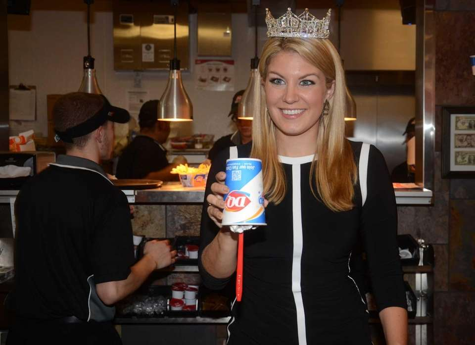 Miss America 2013 Mallory Hagan, 24, of Brooklyn,