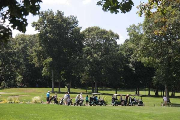 In Dix Hills Park, you can golf, hike,