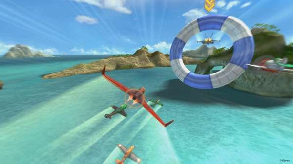 In Disney Planes, players take control of several
