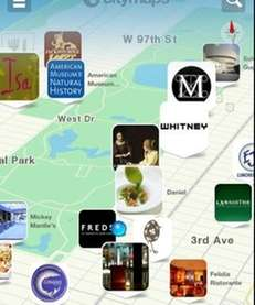 The free Citymaps app, available on iOS, allows