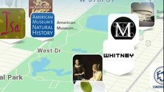 The free Citymaps app, available on iOS, allows