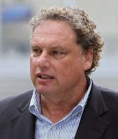 Yankees president Randy Levine speaks during the announcement