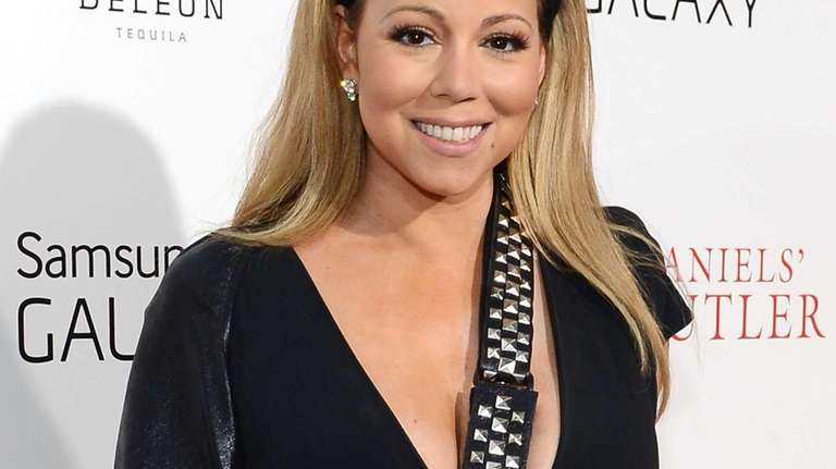 Mariah Carey attends the premiere of