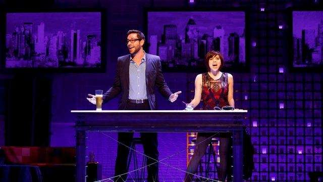 Zachary Levi and Krysta Rodriguez in
