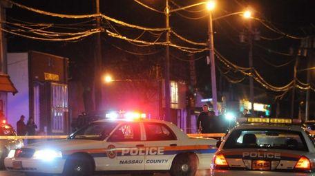 An unidentified pedestrian was struck by a car