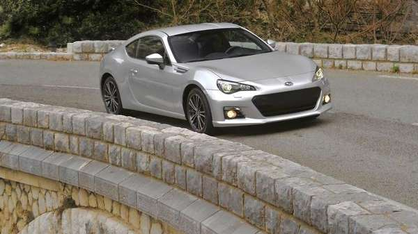 The Subaru BRZ, jointly developed with Toyota, was