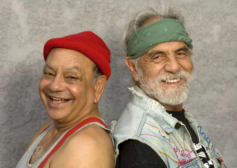 Cheech & Chong dominated drug humor in the