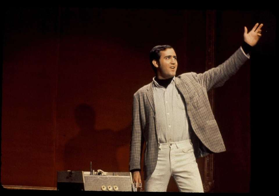 Andy Kaufman, who grew up in Great Neck,