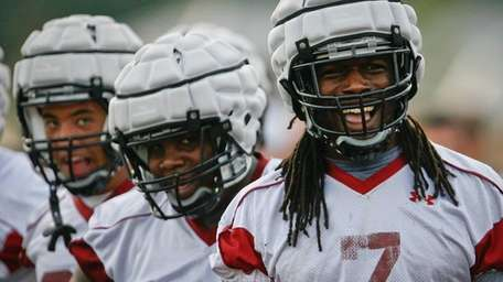 South Carolina's Jadeveon Clowney during practice. (Aug. 3,