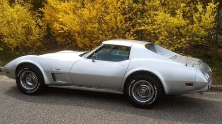 The 1977 Chevrolet Corvette coupe is owned by